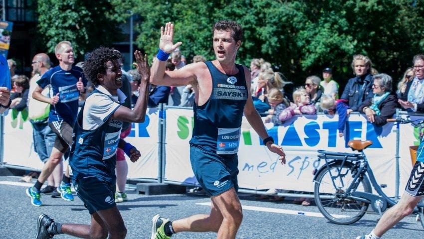 Pelle Hvenegaard til Århus City Halvmarathon