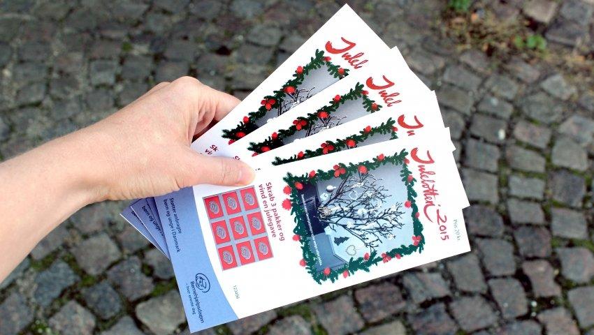 Skrabelodder fra Børnehjælpsdagens Julelotteri 2015