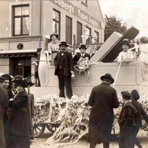 Årets Børnehjælpsdag i Rønne i 1907