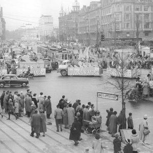 Optog med Slaraffenland til årets Børnehjælpsdag i København. Foto: Arkiv.
