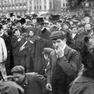 Christian den 9. deltog også til årets Børnehjælpsdag i 1904
