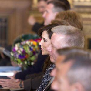 Kronprinsesse Mary overværer Lillebror Prisen 2012