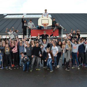 Elever fra Lyreskovskolen laver kampagne for anbragte børn