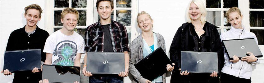 Støt Børnenes IT-Fond som virksomhed og sørg for at landets anbragte børn og udsatte unge kan gennemføre deres uddannelse