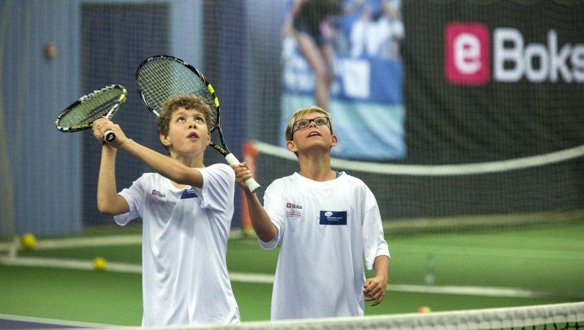 Tennisevent i KB-Hallen