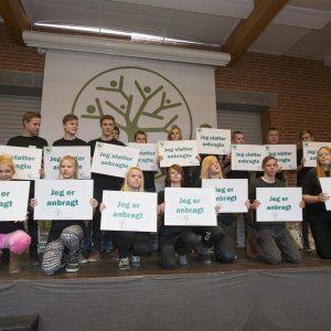Vinderen af Ungdomsværn 2014: Bogø Kostskole.