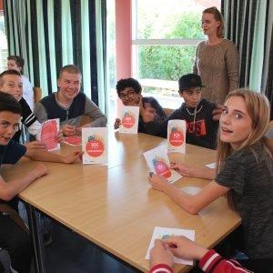 Elever fra Kildemarkskolen i Næstved