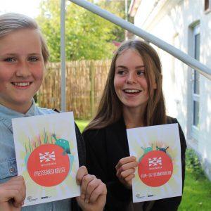 Elever på Vidarskolen i Gentofte