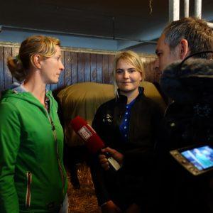 Børnehjælpsdagens projekt Drømmebanken med ridesportens prinsesse Nathalie