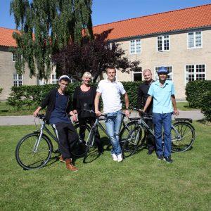 Børnehjælpsdagens projekt Drømmebanken med cykler