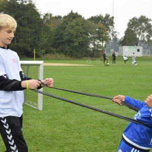 Fodboldcamp for anbragte børn