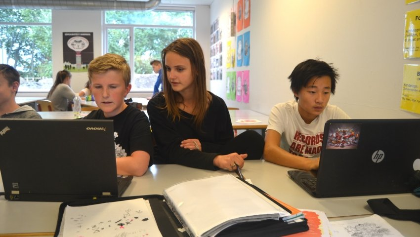 Presse- og medieansvarlige Anker, Sille og Rasmus