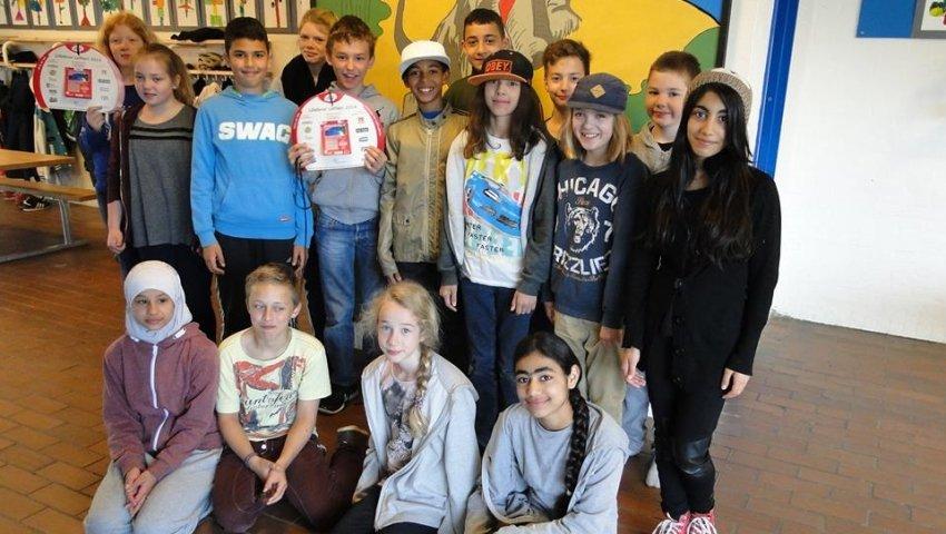 Gruppebillede 5C fra Skovbrynet Skole