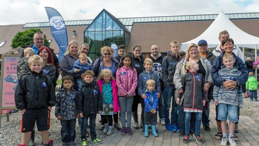 Glade plejefamilier i Knuthenborg Safaripark