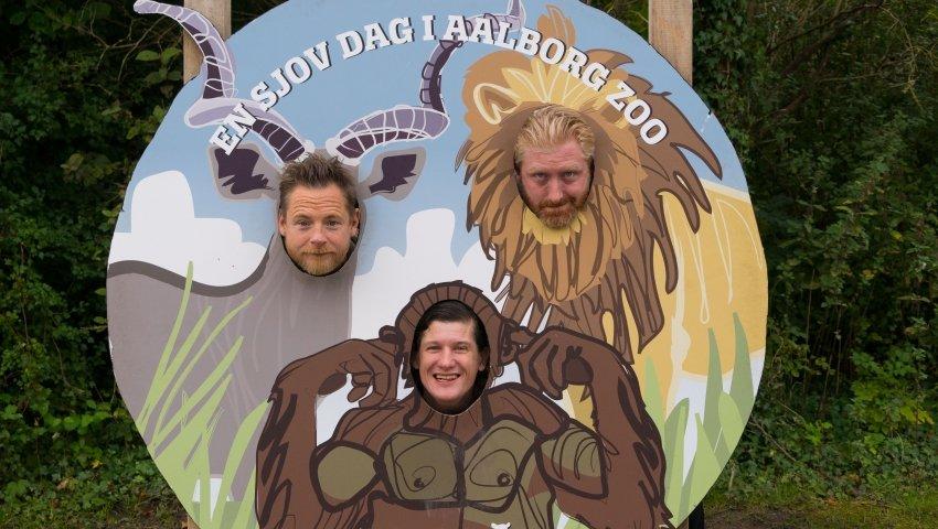 de tre danske kendisser; skuespiller Paw Henriksen, komiker Karsten Green og rapper Michael 'Jøden'