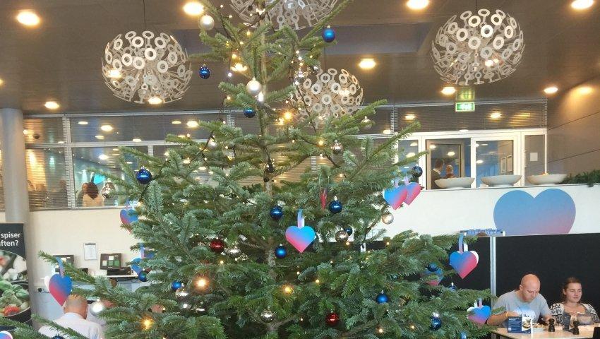Juletræ hos Telenor
