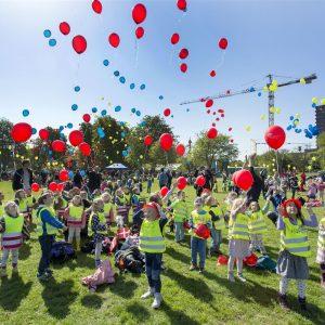 Årets Børnehjælpsdag 2015 i Fælledparken