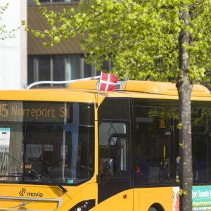 Busserne flager på Årets Børnehjælpsdag