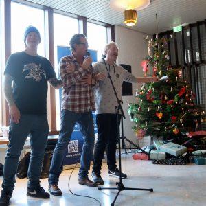 Jøden, Peter Mygind og Karsten Green synger for