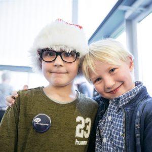 Til Børnehjælpsdagens Julefest på kunstmuseet HEART i Herning