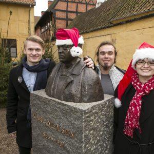 Til Børnehjælpsdagens Julefest i Odense 2016.