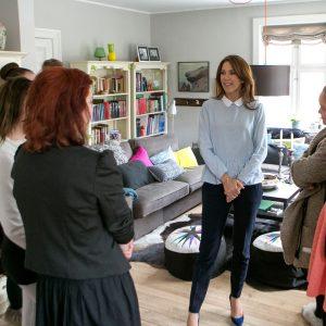 Børnehjælpsdagens projekt Drømmebanken med Kronprinsesse Mary