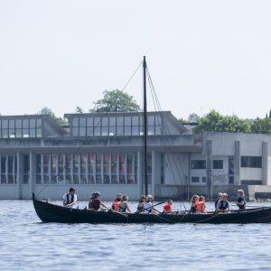 Sommerfest på Vikingeskibsmuseet i Roskilde