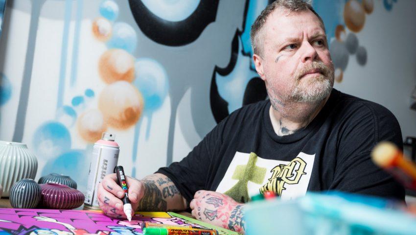 L_Ron_Harald_graffiti-Boernehjaelpsdagens-aarsplakat-2017-2