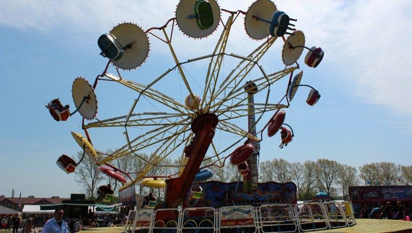 Ankers Tivolipark på Børnehjælpsdagens Kræmmermarked