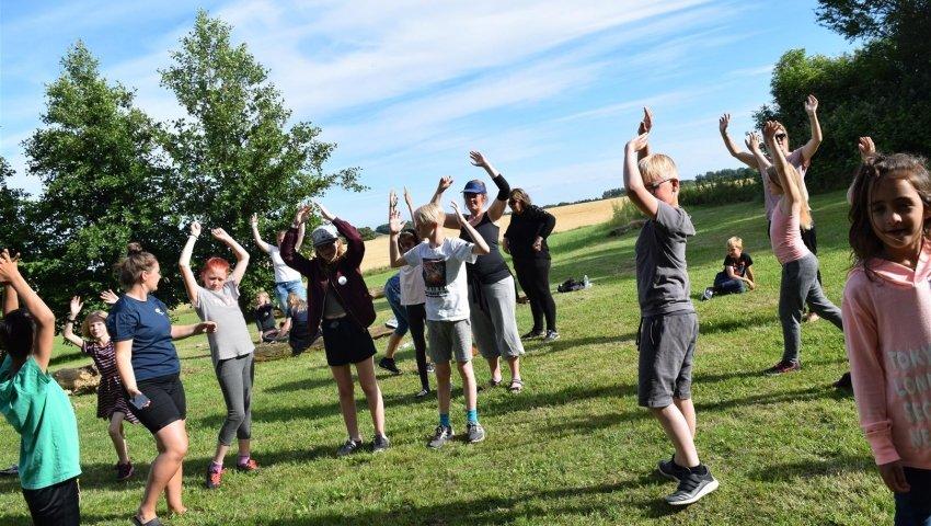 Børnehjælpsdagens SommerCamp 2017 på Samsø. Foto: Børnehjælpsdagen.