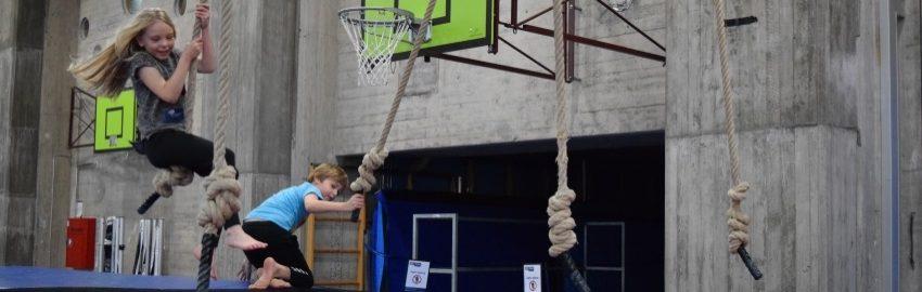 Børnehjælpsdagens arrangement Bevægelsesmekka i Ålborg