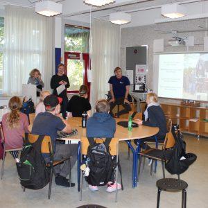 Ungdomsværn 2018: Eleverne fra Gjellerup Skole