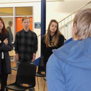 Ungdomsværn 2018: Ikast Ungdomscenter lytter til Silas