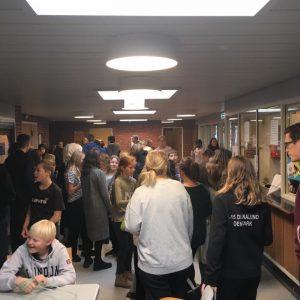Ungdomsværn 2018: Markedsdag på Holbergskolen