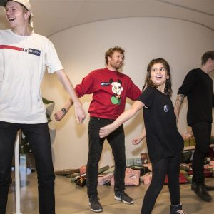 Børnehjælpsadagens julefest på ARoS Aarhus Kunstmuseum