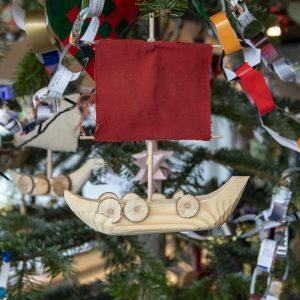 Børnehjælpsdagens Julefest på Vikingeskibsmuseet i Roskilde