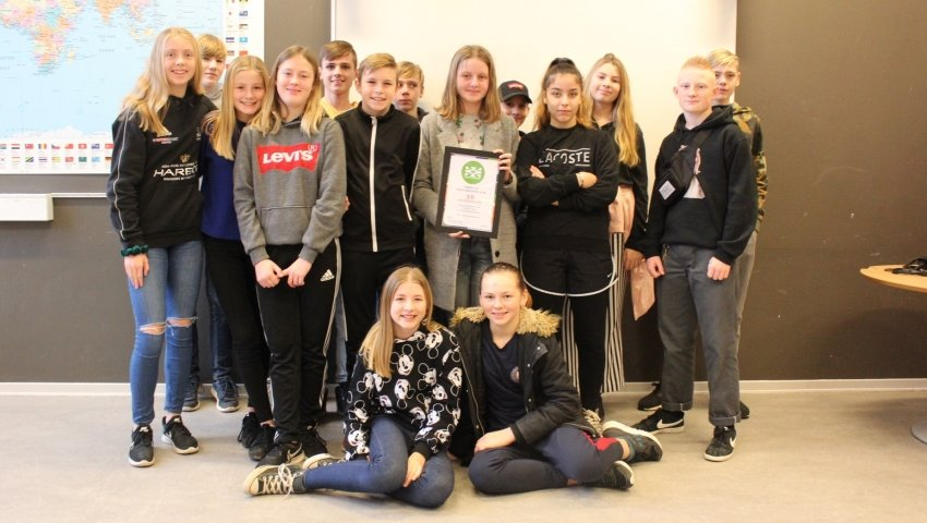 Vindere af Ungdomsværn: Holbergskolen 7B