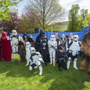 Troopers for Charity Kongen have Årets Børnehjælpsdag