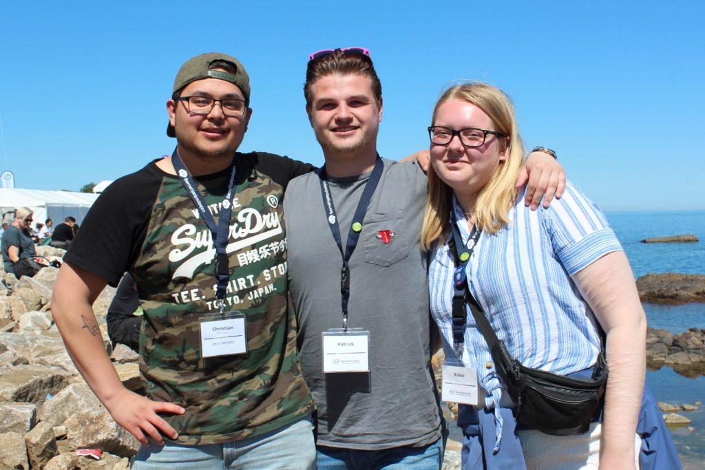 Folkemødet: Unge deltagere i EMPOWER4U