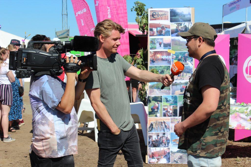 TV2 Bornholm interviewer tidligere EMPOWER4U-deltager Christian
