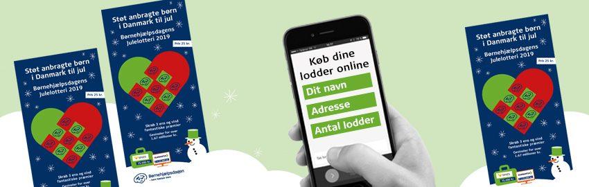 Køb Julelotteriet online
