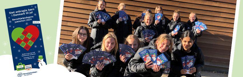 Jægersborg Boldklub sælger Julelotteriet