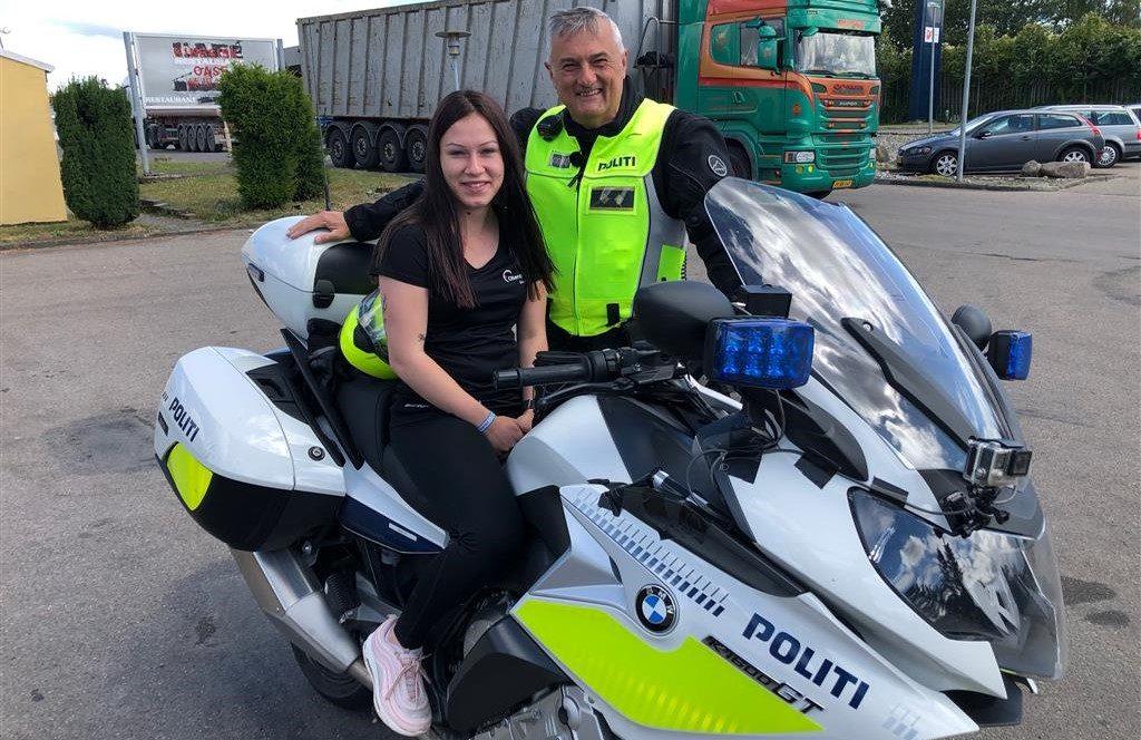 Drømmebanken tog ung pige med på produktion af TV-serien politijagt