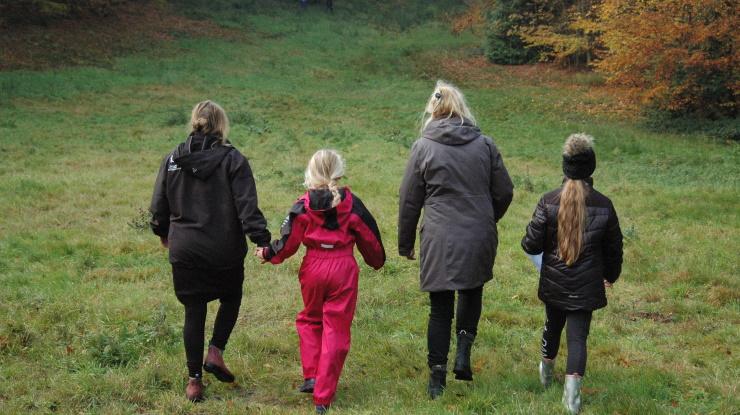 Børnehjælpsdagens efterårscamp for plejedøtre og plejemødre i 2015