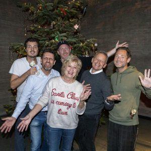 Kendte personligheder til Børnehjælpsdagens Julefest Danmarks Borgcenter i Vordingborg. Foto: Kim Agersten