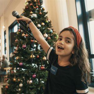 Børnehjælpsdagens julefest for anbragte børn på ARoS
