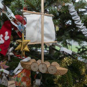 Julefest på Roskilde Vikingeskibsmuseum.