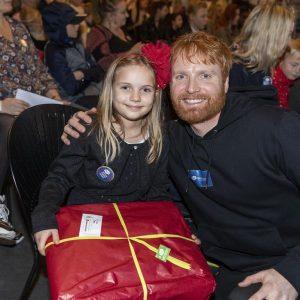 Magnus Bruun til Børnehjælpsdagens julefest.