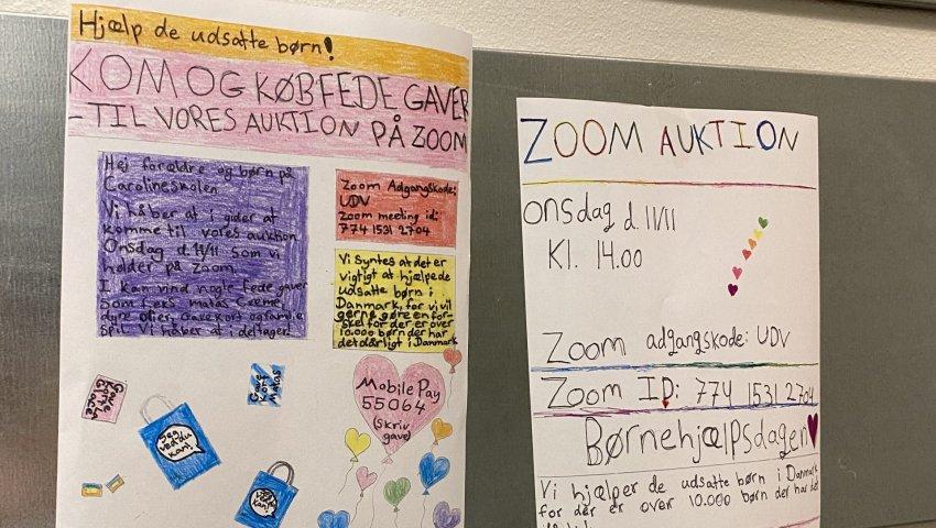 Ungdomsværn 2020: Reklamearbejde i Børnehjælpsdagens skoleprojekt